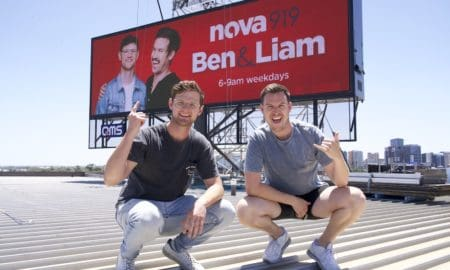 Ben & Liam billboard
