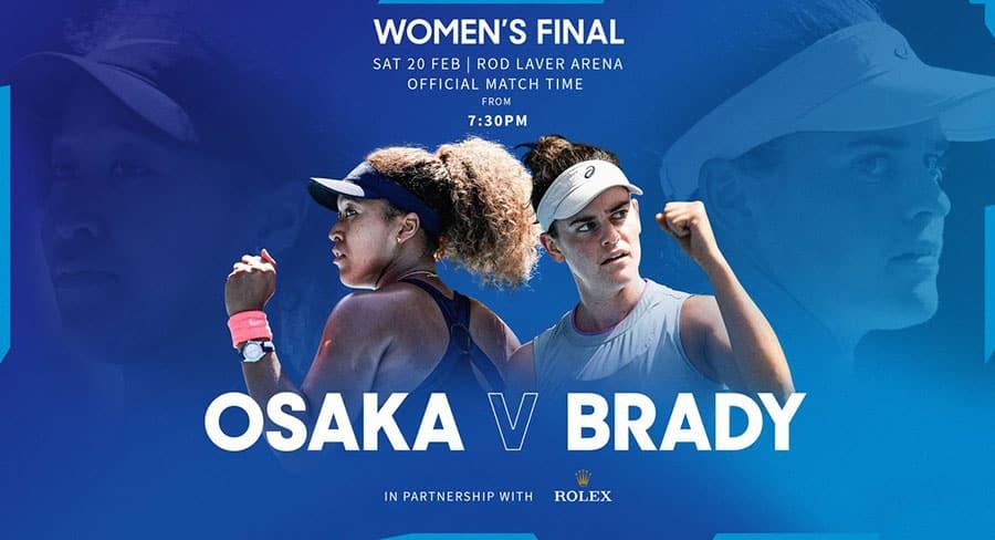 Australian Open women's final