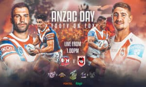 fox footy anzac day