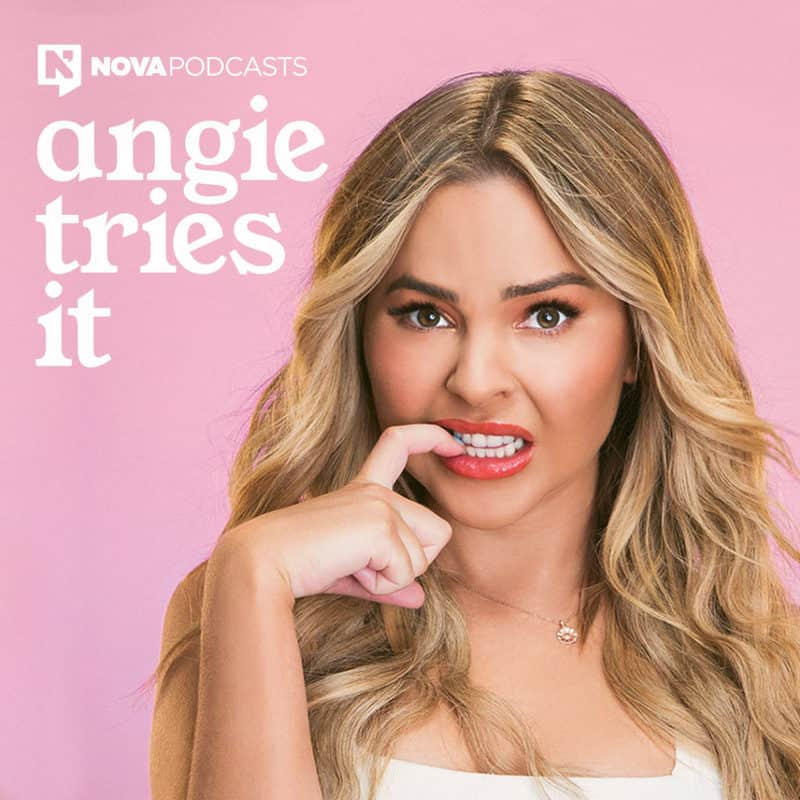 Angie Kent's Best Job Ever: The TV reality star launches podcast series